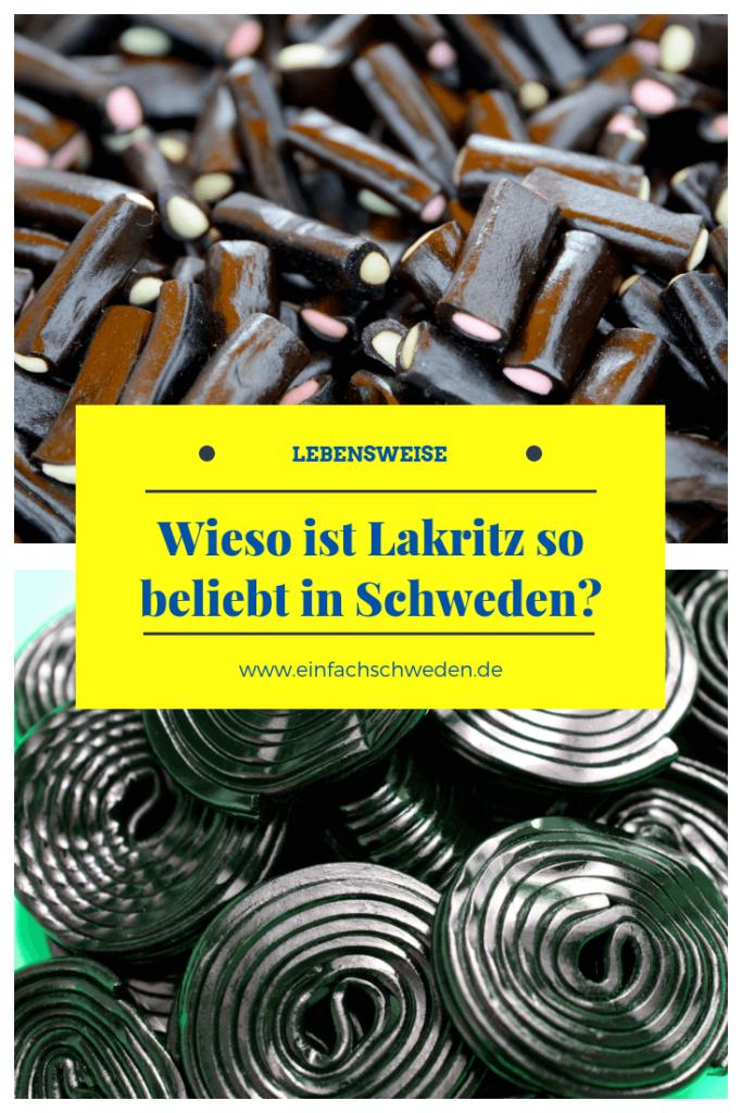 Das schwarze Gold, wie das Lakritz auch genannt wird, ist vor allem in Schweden sehr beliebt. Aber woran liegt das wohl? Und wo spielt Lakritz in der Geschichte eine Rolle? #einfachschweden #schweden #süßigkeiten #godis #lakrits