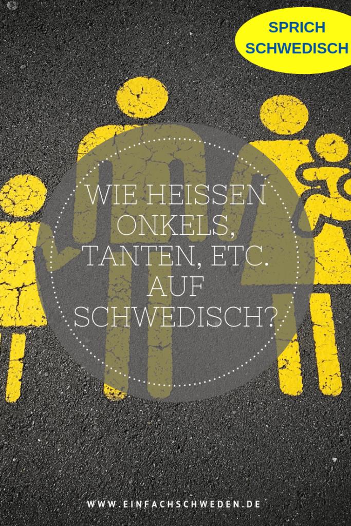 Was im Deutschen teilweise etwas schwierig ist, ist im Schwedischen viel einfacher. Schwedische Verwandte brauchen keiner großen Erklärung. #einfachschweden #familie #schwedisch #vokabeln #verwandte