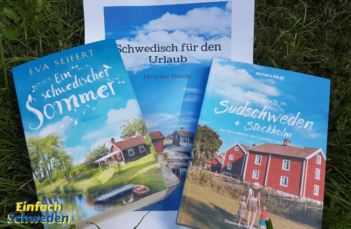 Schweden schwedisch Buch Bücher Sommer Sommerstimmung Urlaub Reise