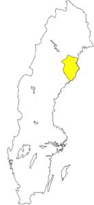 Västerbotten Landschaft Schweden Norrland