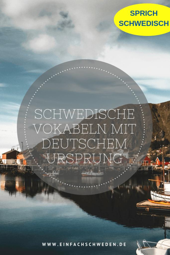 Jede Sprache wird durch etwas beeinflusst. So auch die schwedische Sprache durch die deutsche. Heute gibt es immer noch viele schwedische Wörter, die ihren Ursprung in der deutschen Sprache haben. #schwedischlernen #schwedisch #sprachelernen #einfachschweden #schweden