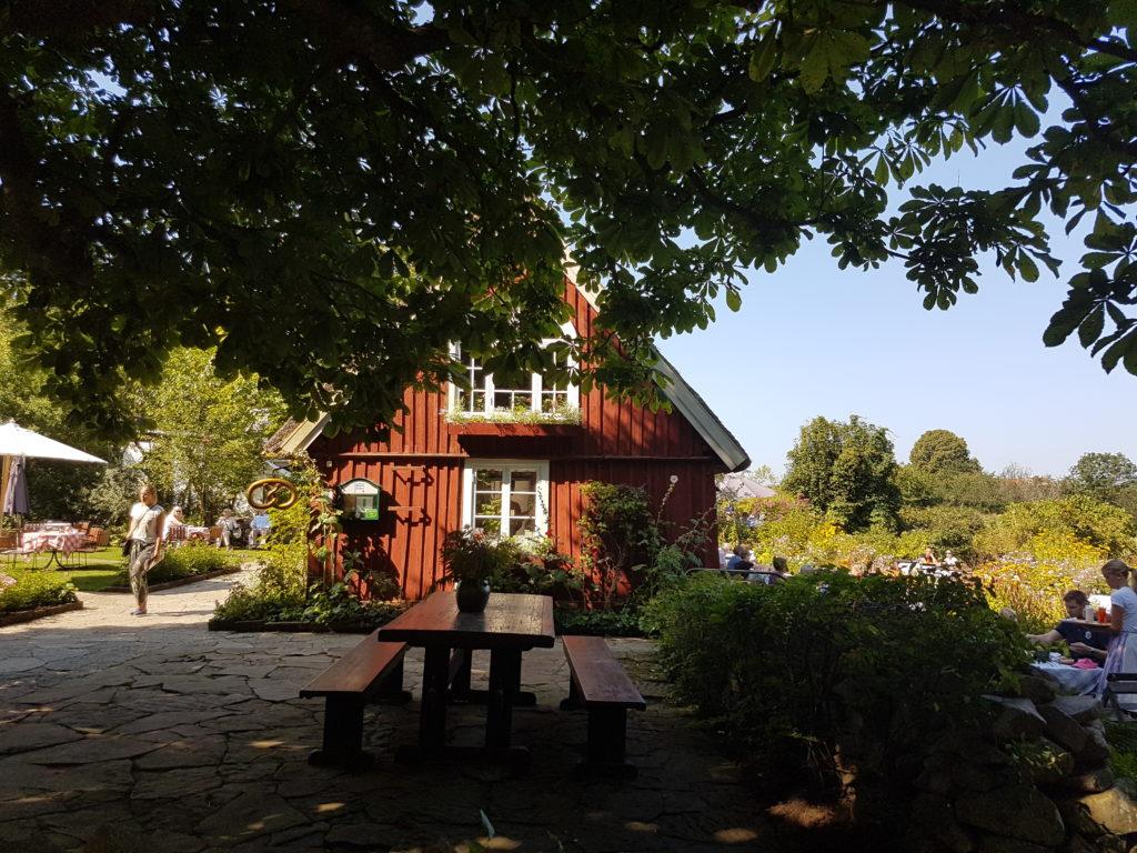 Flickorna Lundgren Café Skäret Schweden