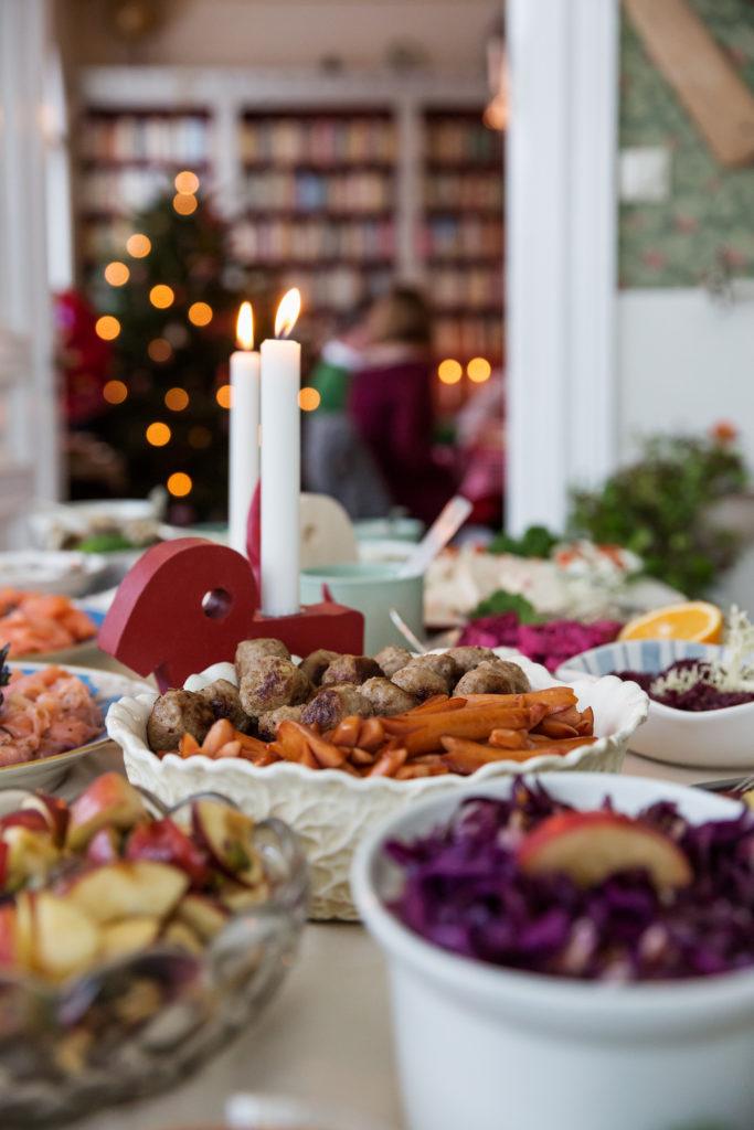 Julbord Smörgåsbord Weihnachten Schweden