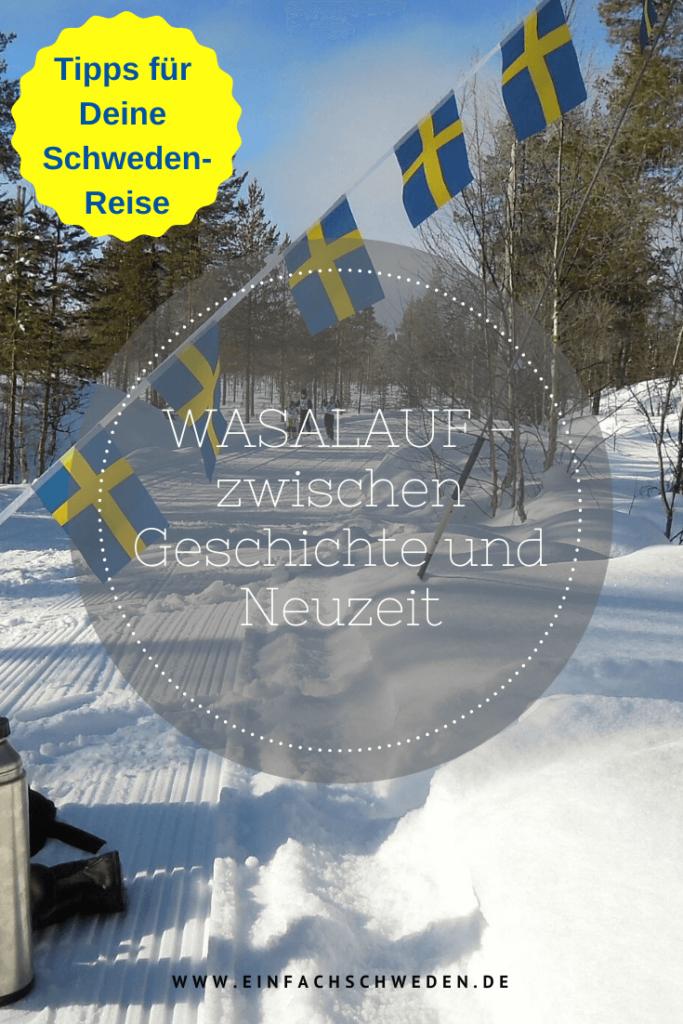 Der Wasalauf ist in Schweden die weltgrößte Skilanglaufveranstaltung, die jährlich mehrere Tausend Teilnehmer anzieht. Das Ski-Event stammt aus der Geschichte her und feiert demnächst sogar seinen 100. Geburtstag. Zwischen Sälen und Mora in Dalarna fahren die Skifahrer auf historischen Spuren. #einfachschweden #vasaloppet #wasalauf #schweden #sweden #sverige #winterinschweden #schwedenurlaub