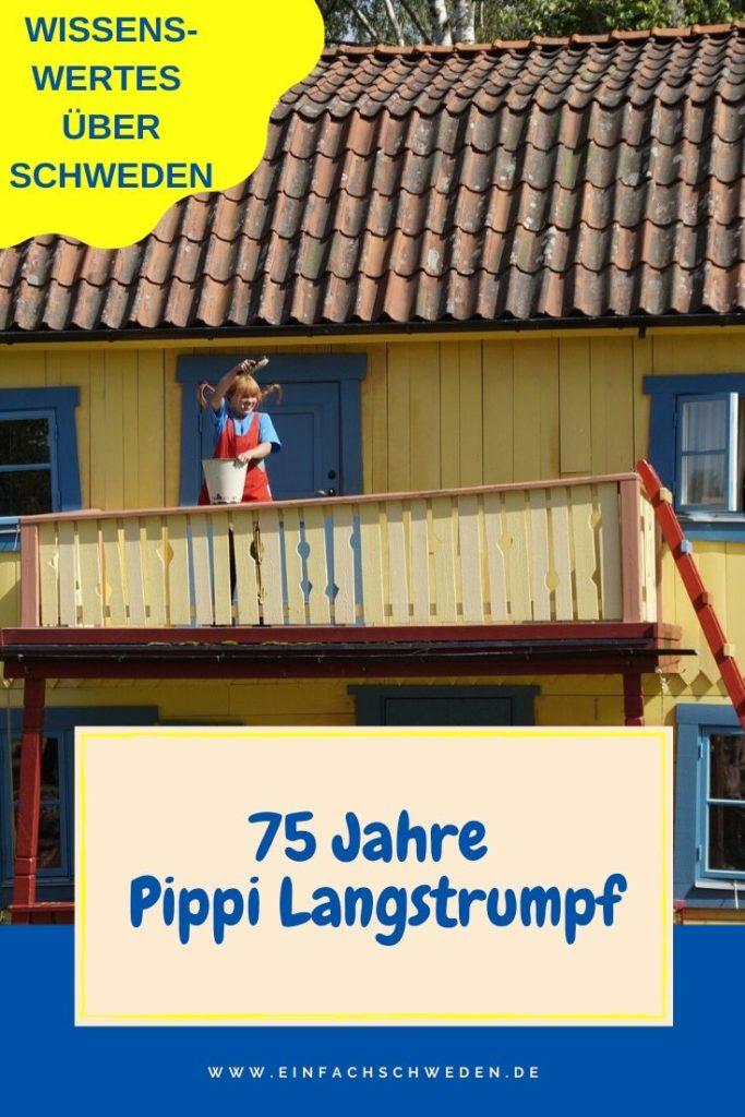 Pippi Langstrumpf, eine der berühmtesten schwedischen Kinderbuchfiguren, feiert ihren 75. Geburtstag. Was solltest Du über sie und ihre Geschichte wissen? #einfachschweden #pippilangstrumpf #astridlindgren #kinderbuch #schwedischeskinderbuch