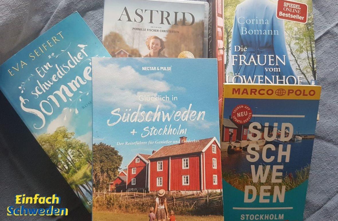 schwedische Bücher Filme schweden nach Hause holen