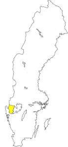Dalsland Schweden Karte