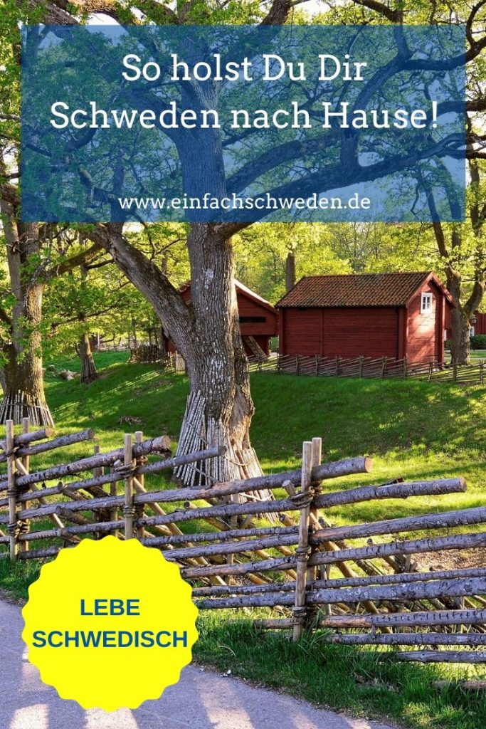 Was machst Du, wenn der Schweden-Urlaub ausfällt oder noch so weit weg ist? Genau, hol Dir Schweden einfach zu Dir nach Hause. Wie? Das verrate ich Dir. #einfachschweden #schwedenzuhause #schwedischebücher #schwedischesessen #urlaubinschweden