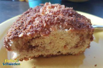 Zimtschnecken-Rührkuchen lecker Schweden schwedisch