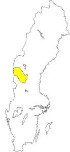 Härjedalen Schweden Landschaft Silouette