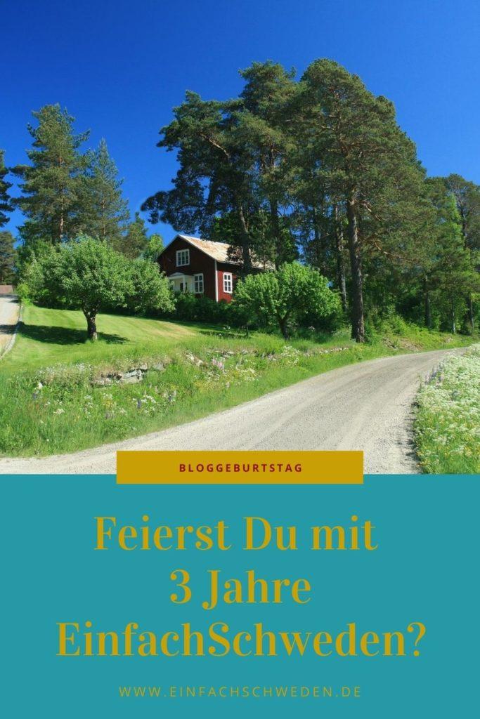 Seit 3 Jahren gibt es den Blog EinfachSchweden schon. Und da gibt es natürlich das ein oder andere zu erzählen und zu beleuchten. Komm mit auf eine kleine Reise durch die letzten Jahre und lass uns gemeinsam schauen, was auf dem Blog rund um Schweden, die Leute, Traditionen und der schwedischen Sprache schon alles passiert ist. #einfachschweden #schweden #urlaubinschweden #schwedenreise #schwedisch