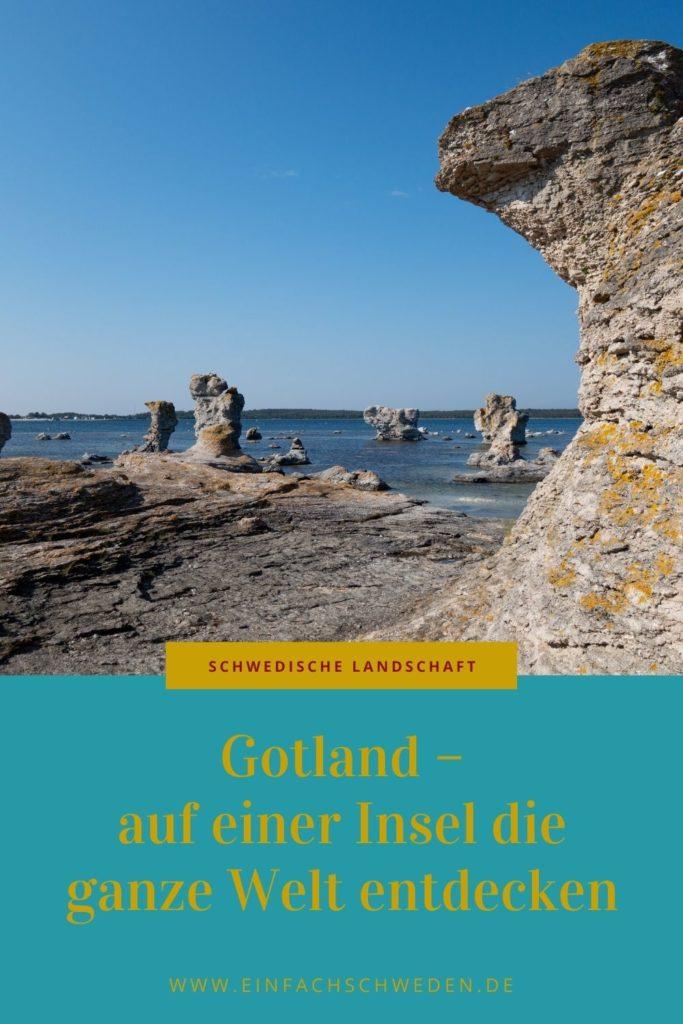 Gotland Insel Schweden