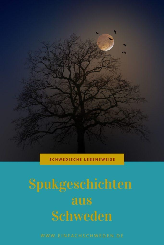 Wie in jedem Land gibt es auch in Schweden Spukgeschichten, die gerne weitererzählt werden und die schon dem ein oder anderen Angst eingejagt haben. Sei es entweder, wenn man die Gruselgeschichte hört oder selber daran beteiligt ist und einen Geist sieht. Einige Orte, an denen es u.a. in Schweden spukt, dass kannst Du im Artikel nachlesen. #einfachschweden #spukgeschichte #schweden #gruselgeschichte #halloween