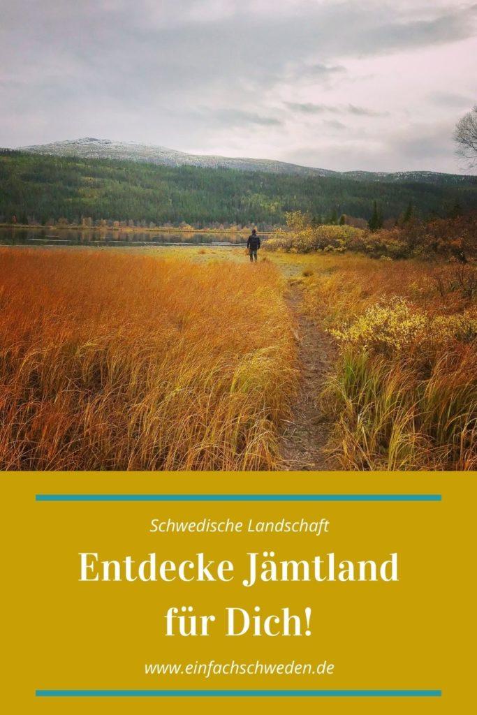 Jämtland ist eine der schwedischen Landschaften, die im südlichen Norrland liegen. Dort findest Du viel unberührte Natur, aber genauso gut auch einen der schwedischen Wintersportorte Åre. #einfachschweden #jämtland #schweden #urlaubinschweden #schwedenreise #schwedenurlaub