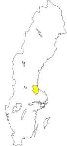 Gästrikland Schweden Landschaft Silouette