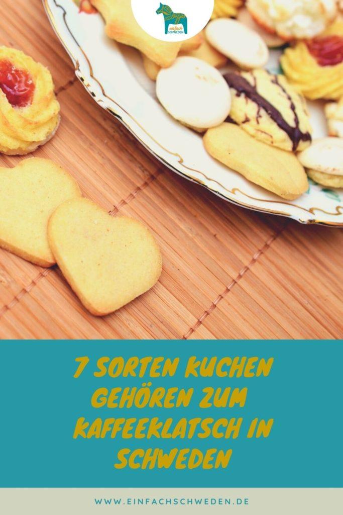 schwedischer Kaffeeklatsch Kuchen Kekse