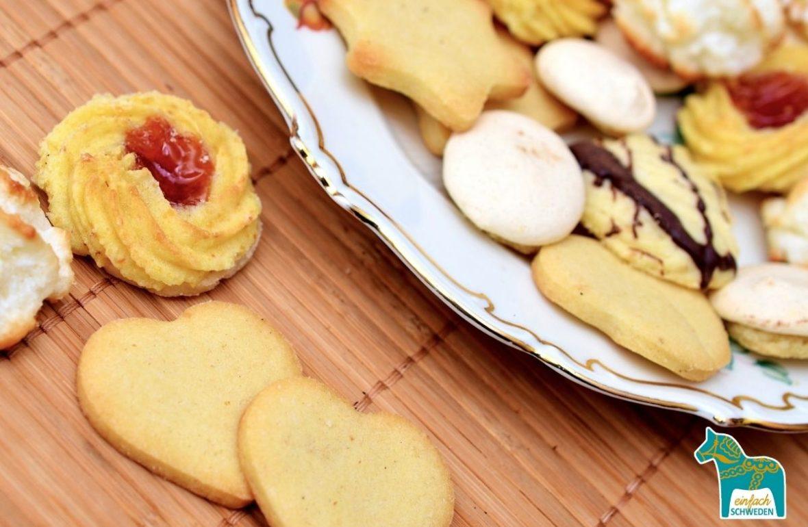 Kaffeeklatsch Schweden Kuchen Kekse sju sorters kakor