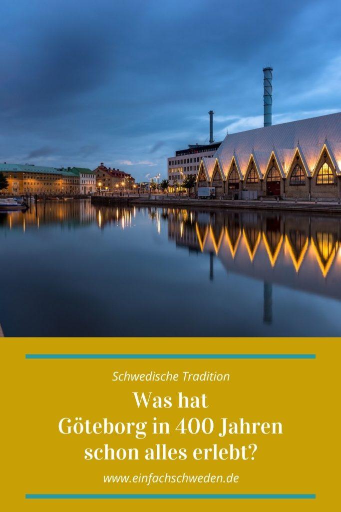 400 Jahre Göteborg - schwedische Geschichte pur. Wie alles begann und was die Stadt in dieser langen Zeit schon alles erlebt und mitgemacht hat, das habe ich Dir einmal kurz zusammengefasst. #einfachschweden #göteborg #schweden #400jahregöteborg