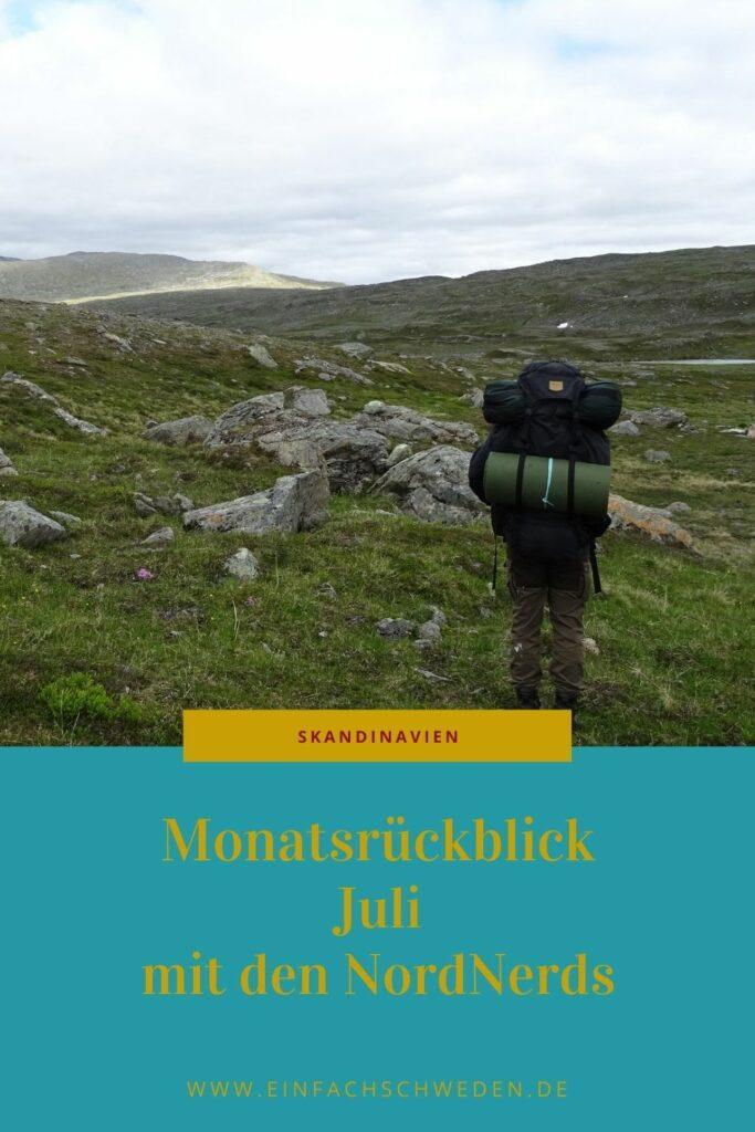 Jeden Monat erblicken viele spannende und interessante Artikel über Skandinavien das Licht der Bloggerwelt. Die NordNerds sind ein lockerer Zusammenschluss von skandinavischen Bloggern. Damit wir alle mehr von den tollen Geschichten, Rezepten, Infos,... haben, kommt jeden Monat ein kleiner Monatsrückblick heraus. Den Monat Juli durfte ich zusammenfassen und Dir eine kleine Auswahl an tollen Artikeln präsentieren. #einfachschweden #skandinavien #nordnerds