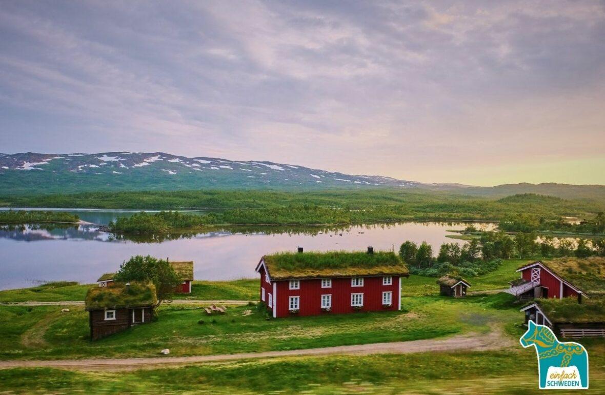 Reisezeit Schweden Berge fjäll