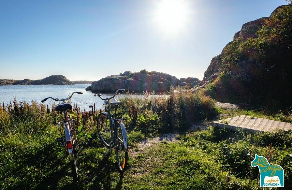 outdoor Aktivitäten Göteborg Schweden Schären Fahrrad