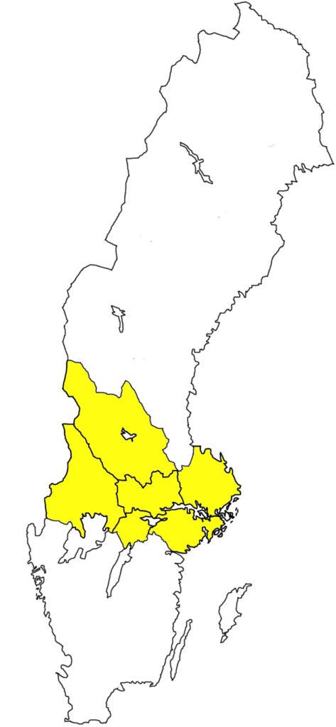 Svealand Schweden Landesteil
